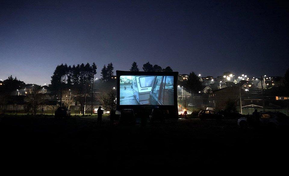 pantalla inflable festivales de cine